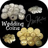 wedding coins, wedding unity coins