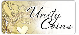 wedding unity coins