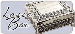 wedding lasso box engraved