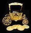 wedding coin carriages