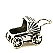 baby carriage baby shower charms