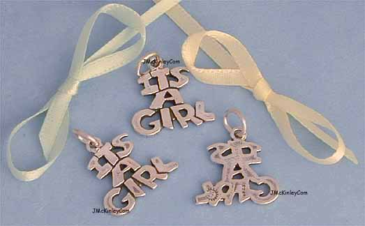 sterling silver Dolphin charms