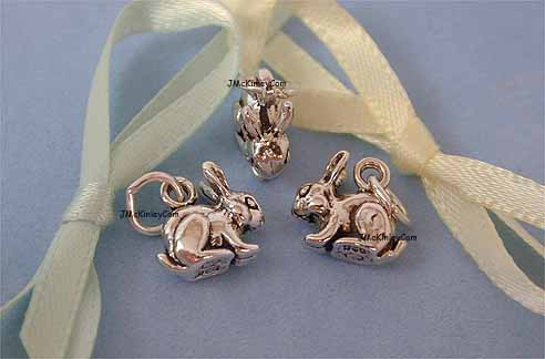 sterling silver Noahs ark charms
