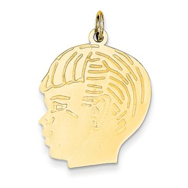 clearance item boy head with detail lines