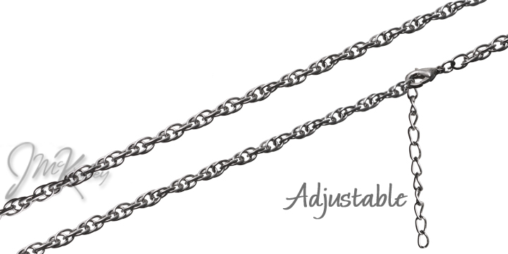 Overstock special Adjustable 18-21 inch Silver chain 4mm Nice quality