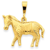 14k gold animals charms