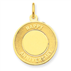 14k gold anniversary charms