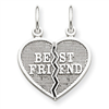 14k gold best friends charms