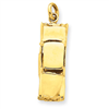 14k gold cars charms