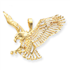 14k gold eagle charms