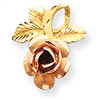 14k gold flowers charms
