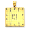 14k gold games charms
