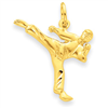 14k gold karate charms