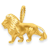 14k gold lions charms