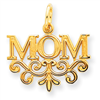 14k gold mom charms and mother charms