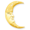 14k gold moon charms