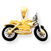 14k gold motorcycles charms