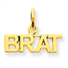 14k gold talking charms