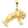 14k gold tigers charms