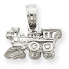 14k gold trains charms