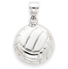 14k gold volleyball charms