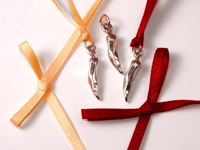 sterling silver chili pepper charm