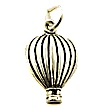 hot air balloon wedding cake charms