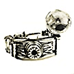 camera wedding cake charms